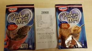 Dr Oekter pud in a mug. Was 85p now 17p @Tesco