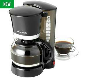 Cookworks filter coffee machine filter coffee maker - £12.50 at Argos