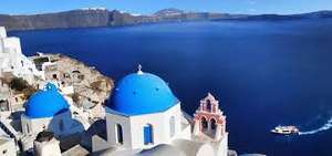 From Birmingham: April/May North Crete Twin Centre & Santorini 2 Week Holiday £283.11pp inc Flights, Bus, Transfers, Ferry & Excellent Rated Accommodation @ booking.com
