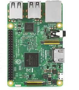 DIY Raspberry Pi Model 3 B Motherboard - ENGLISH VERSION GREEN 1GB LPDDR2 Memory On-board WiFi / Bluetooth 4.1 £24.84 *Now £22.92* (with code) @ Gearbest