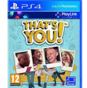 That's you (PS4) £3.99 preowned @ Grainger games
