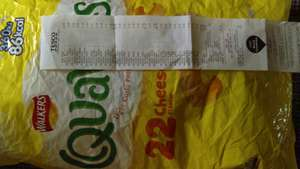 Quavers 22 pack and other brands zoom on receipt 40p @ tesco dungannon