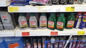 Two stroke oil 10p @ B&M