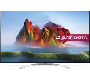 "LG 55SJ850V 55"" Smart 4K Ultra HD HDR LED TV with 5 Year Guarantee  £881.10  Curys with code"