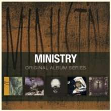 Ministry: Original Album Series (Box set) Twitch, The Land Of Rape & Honey, The Mind Is A Terrible Thing To Taste, In Case You Didn't Feel Like Showing Up (Live), and Psalm 69  £9.96 delivered @ muzicmadnezz / Amazon