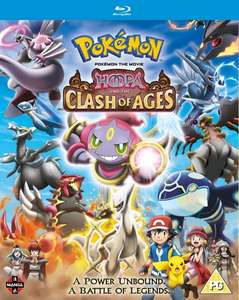 A few Pokémon Movies on Blu-ray only £4.50 delivered @ Zoom [Pokémon - The First Movie / The Movie: 2000 / Hoopa and the Clash of Ages ]