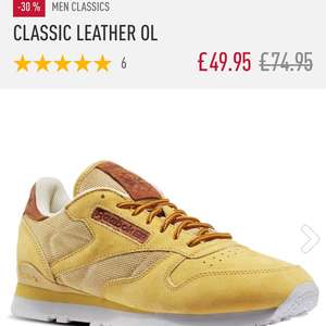 Reebok Classic Leather OL - £39.96 (EXTRA20 discount code) @ Reebok (plus £3.95 del)