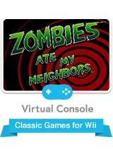 Zombies Ate My Neighbours (SNES) - Last chance at Wii Shop - £7