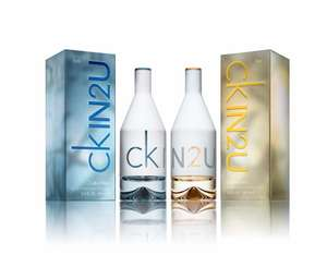 Calvin Klein CKIN2U 150ml EDT Spray for Her or for Him £11.99 + £1.99 Delivery @ Groupon
