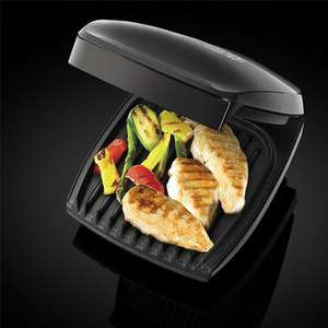 GEORGE FOREMAN 4-PORTION FAMILY HEALTH GRILL  £23.94 delivered @ MailShop