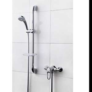 Swirl Loop Rear-Fed Exposed Chrome Effect Mixer Shower £34.99 Screwfix