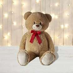 Large Plush Teddy Bear ONLY £10 with free reserve & collect at Dunelm
