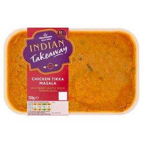 Morrisons Indian Takeaway 350g - Chicken Tikka Masala/ Chicken Balti/ Chicken Jalfrezi/ Chicken Madras/ King Prawn Bhuna/ Lamb Rogan Josh -  £1.50 (Also the new Volcanic Vindaloo)