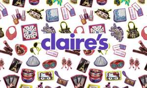 40% off almost everything at Claire's