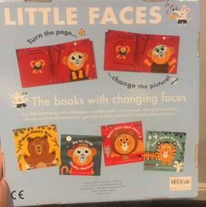 Little faces book collection £9.99 @ Costco instore