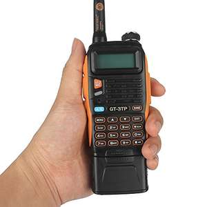Baofeng Pofung GT-3TP Mark-III Tri-Power 8/4/1W Two-Way Radio Transceiver, Dual Band 136-174/400-520 MHz  £34.99 Sold by Treasure Nova and Fulfilled by Amazon
