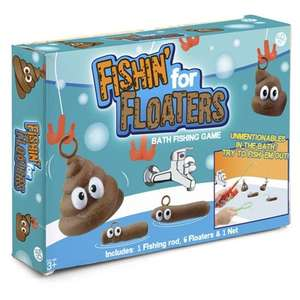 Fishing for Floaters - £6.99 The Gift & Gadget Store