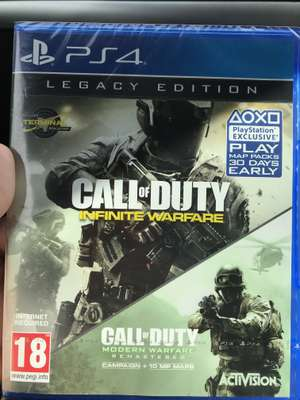 Call of duty legacy edition ps4 £25.00 @ Asda - Monks cross