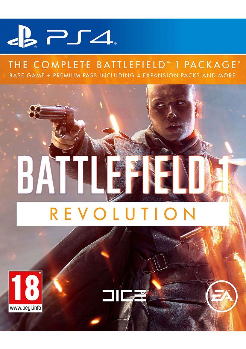 Battlefield 1 Revolution [PS4] £27.85 @ Simplygames