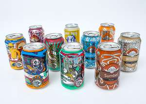 Case of beer (8 cans I think) for £5.95 inc P&P @ Beer52