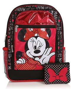 asda george disney minnie mouse rucksack £5 down rom £10