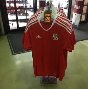 Wales FA home shirt now £20 JD Sports