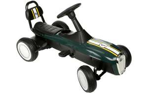 Xootz Retro Racer Go Kart was £100 now £50 Del /  Metal Ride on Racing Car was £100 now £50 @ Halfords