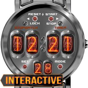 Nixie NXT1 Watch Face now FREE (was 79p) @ PlayStore