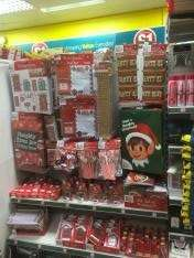 Various elf on the shelf items £1 each at poundland