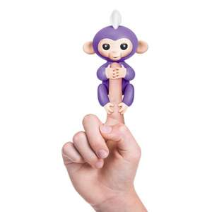 WowWee Fingerlings Purple Baby Monkey £14.99 (In Stock - C+C) @ Smyth's Toys
