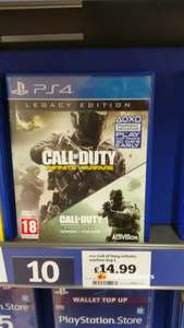 Call of duty infinite warfare legacy edition £14.99 Sainsbury's Brighton