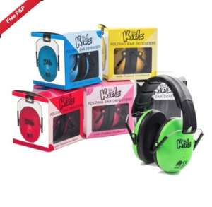 Kids Ear defenders for Fireworks night / New Year from £2.99  - £11.84 (Various stores) - Ideal for those with Autism