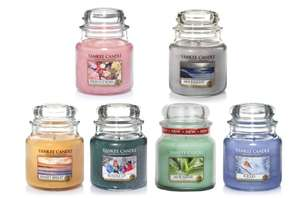 £7 Each For Yankee Candle Classic Medium Jars 411g x 6 £41.99 delivered @ Groupon