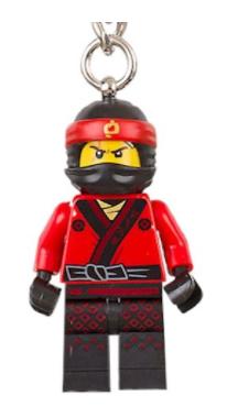 Lego Ninjago Movie Keyring free with Saturday's I newspaper (£0.80)