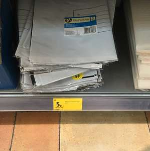 Morrisons post bags reduced from £1 to 5p instore! - Taunton