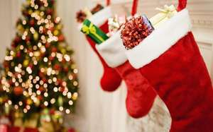 Hawkin's pre - stuffed Christmas Stockings £25 @ Hawkins - Free c&c