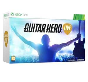 Guitar Hero Live with Guitar Controller [Xbox 360] £6.85 @ Simply Games (Free express delivery)