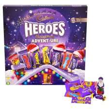 Cadbury Heroes Christmas Advent-ure Calendar £3 @ Tesco
