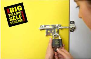 £4 for a £50 Big Yellow self-storage voucher using personalised code @ Groupon