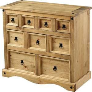 Corona Solid Pine Chest Of Drawers.£94.97 - £89.99 With TCB @ furniture123