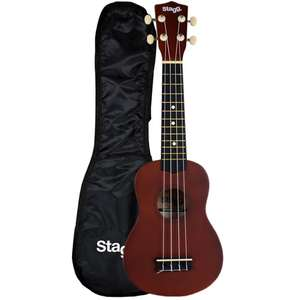 Stagg US10 Soprano Ukulele with Free Bag  £17.99 @  normanssales / Ebay