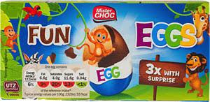 Rip-off Kinder Eggs 3 for £1.29 instore @Lidl