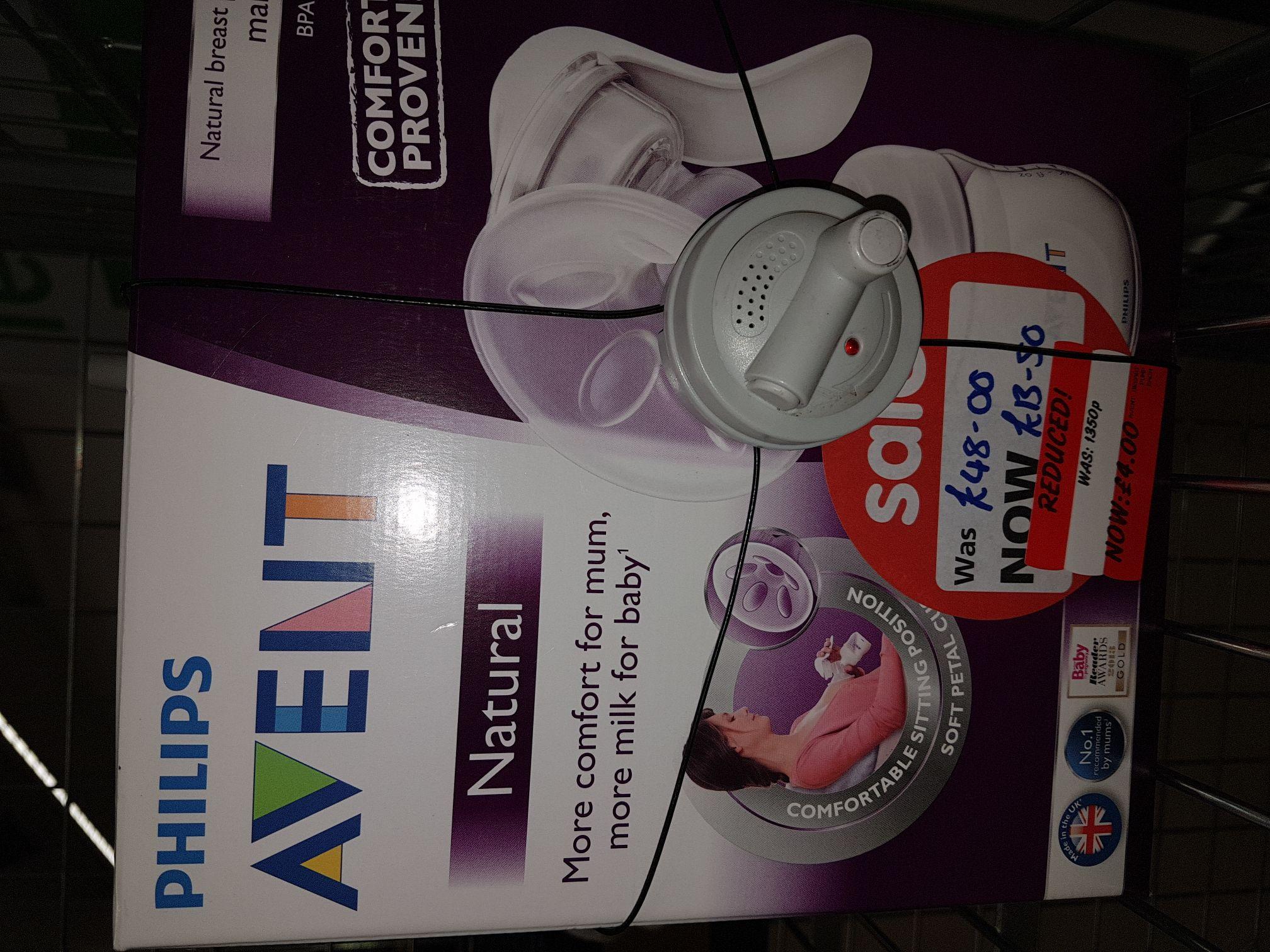 Philips advent breast pump ASDA (Halesowen) - £4
