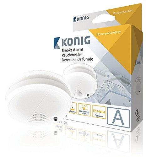 König SAS-SA100 Smoke Alarm @ Amazon Add-on Item - £1.50