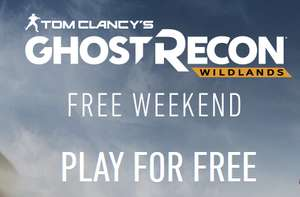 [PS4/Xbox One/PC] Ghost Recon Wildlands - FREE Weekend (12th - 15th Oct)