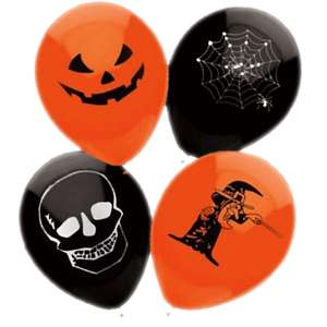 15 Halloween Print Balloons £0.99 delivered @ eBay /  Balloon-Party-Fancy Dress