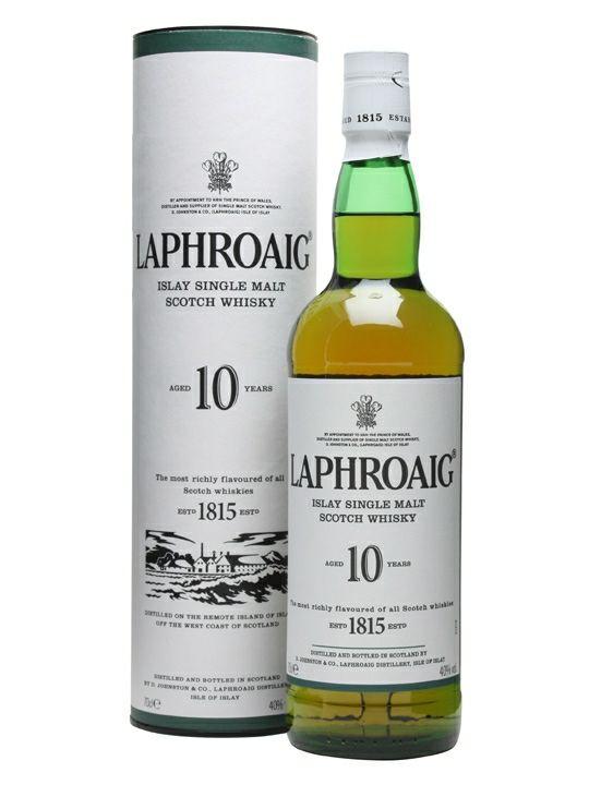 Laphroaig 10 years Scotch Single Malt Whisky 70cl - £25 @ Amazon (Prime Exclusive)