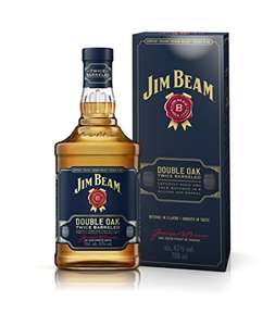 Jim Beam Double Oak Kentucky Straight Whiskey, 70cl -  £18 Prime / £22.75 Non-Prime @ Amazon