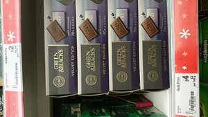 Green and Black's chocolate - £4 instore @ Asda