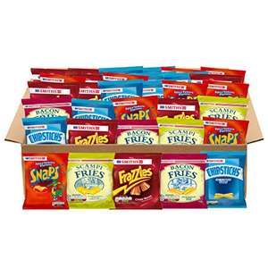 Smiths Snacks Variety Box (46 Bags) £5.96 (Prime) / £10.71 (non Prime) at Amazon